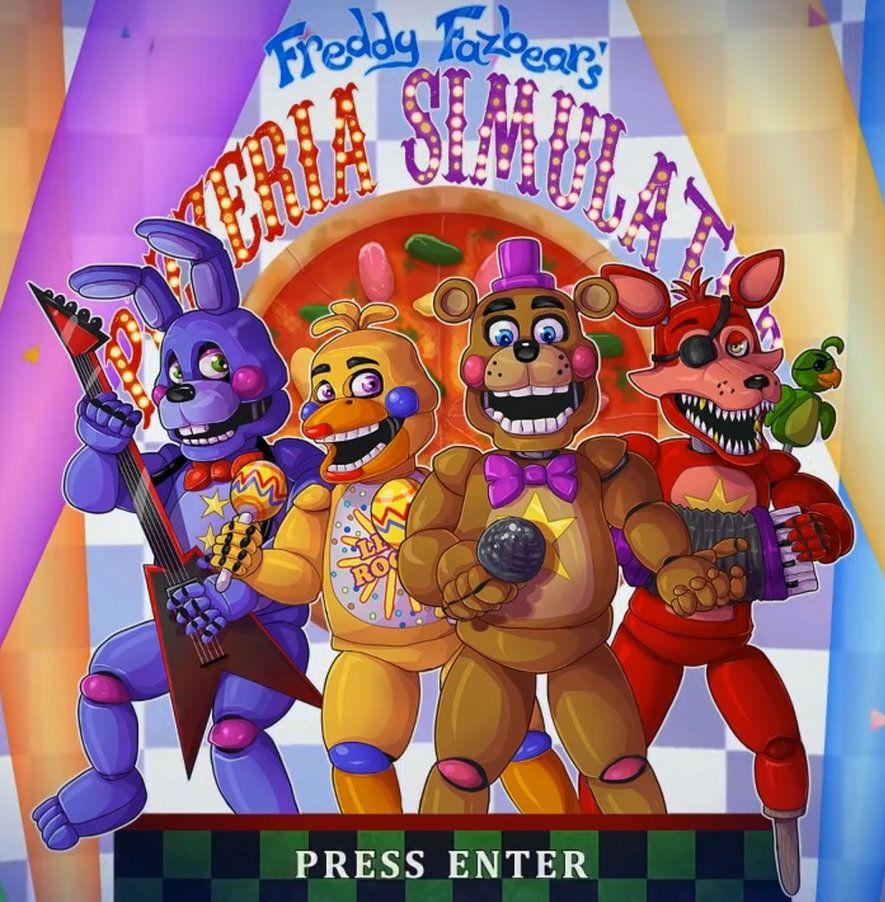 Freddy Fazbears Pizzeria Simulator by HunterValley666 | Fnaf | Fnaf