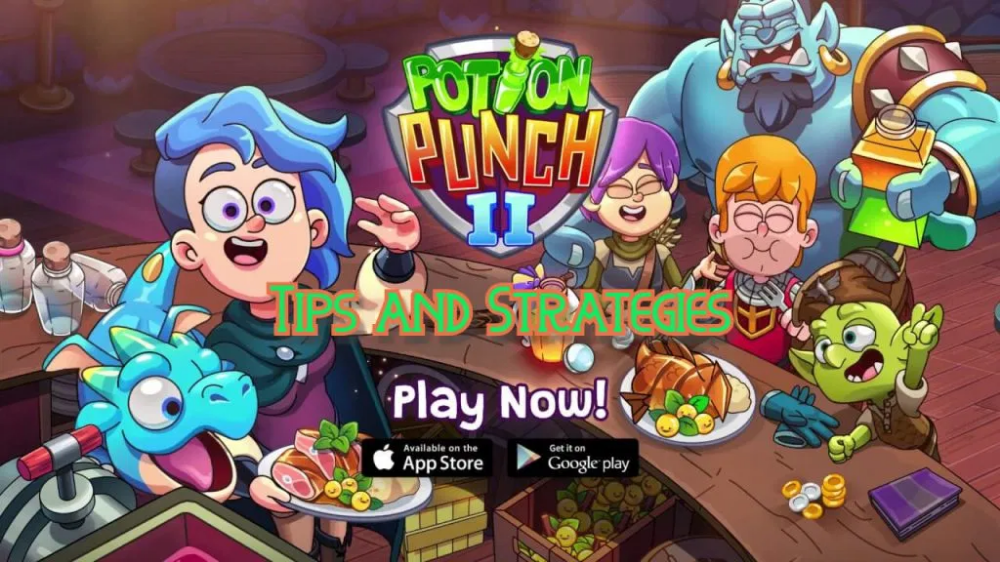 Potion Punch 2 Guide Tips Tricks And Strategies Playoholic How To Cook Fish Punch Potions
