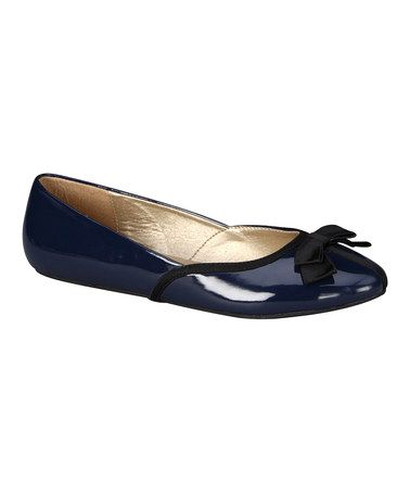 Navy Shannon 4 Flat by C Label $16.99