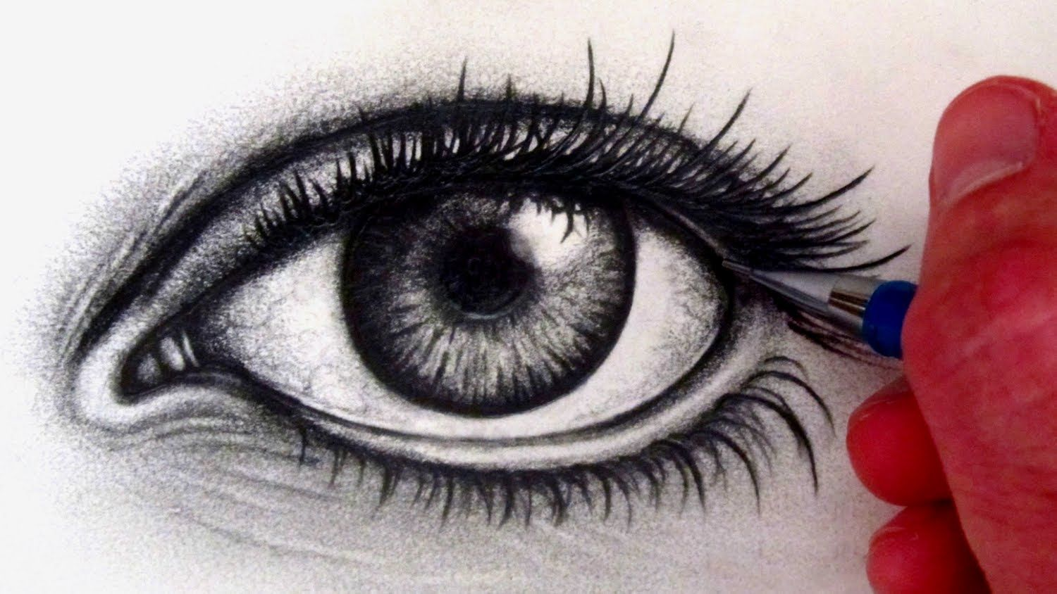 How to draw a realistic eye. Hey everyone! Here's my first
