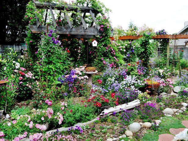 Cottage Gardens We Love Outdoors Home Garden Television Cottage Garden Plants Cottage Garden English Cottage Garden