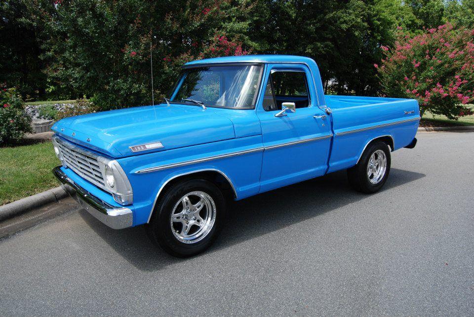 "1967 Ford F100 Ranger ""Homer""   '67 f100   Ford pickup ...  1967 Ford F100 ..."