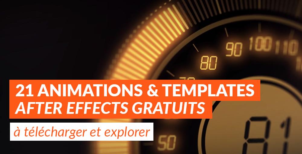 Animations Et Templates After Effects à Télécharger Explorer - After effects photo animation templates