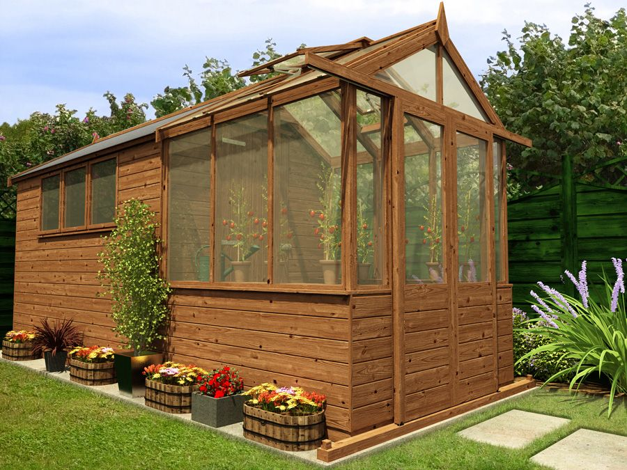 Garden Sheds Massachusetts greenhouse from a shed | new brown pressure treated sheds and