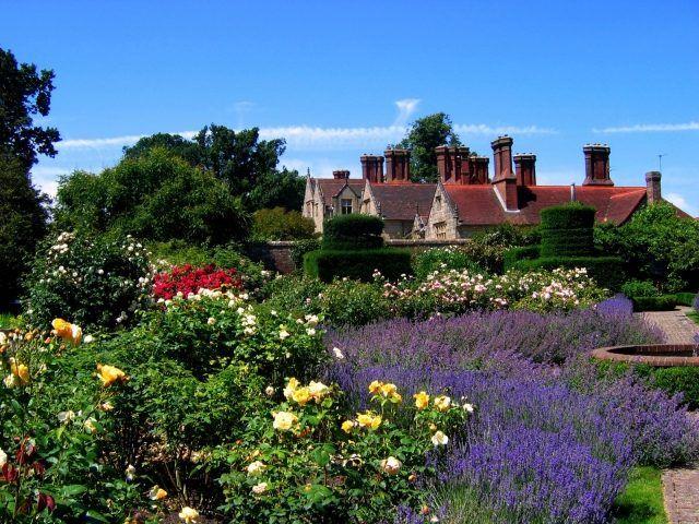 englischer garten cottage gartenstil blumen rosen haus, Garten ideen