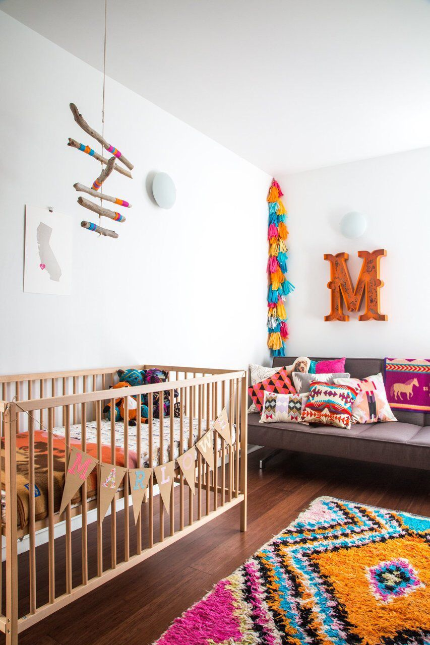 ikea crib and futon in modern nursery ikea crib and futon in modern nursery   modern kids   pinterest      rh   pinterest