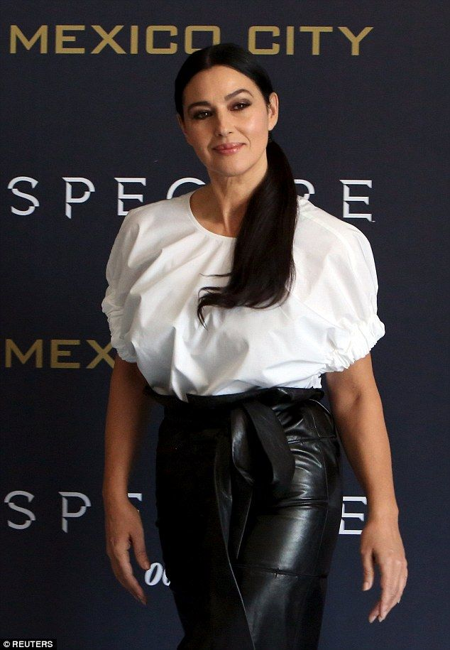 Naomie Harris and Monica Bellucci wow at Spectre photocall ...