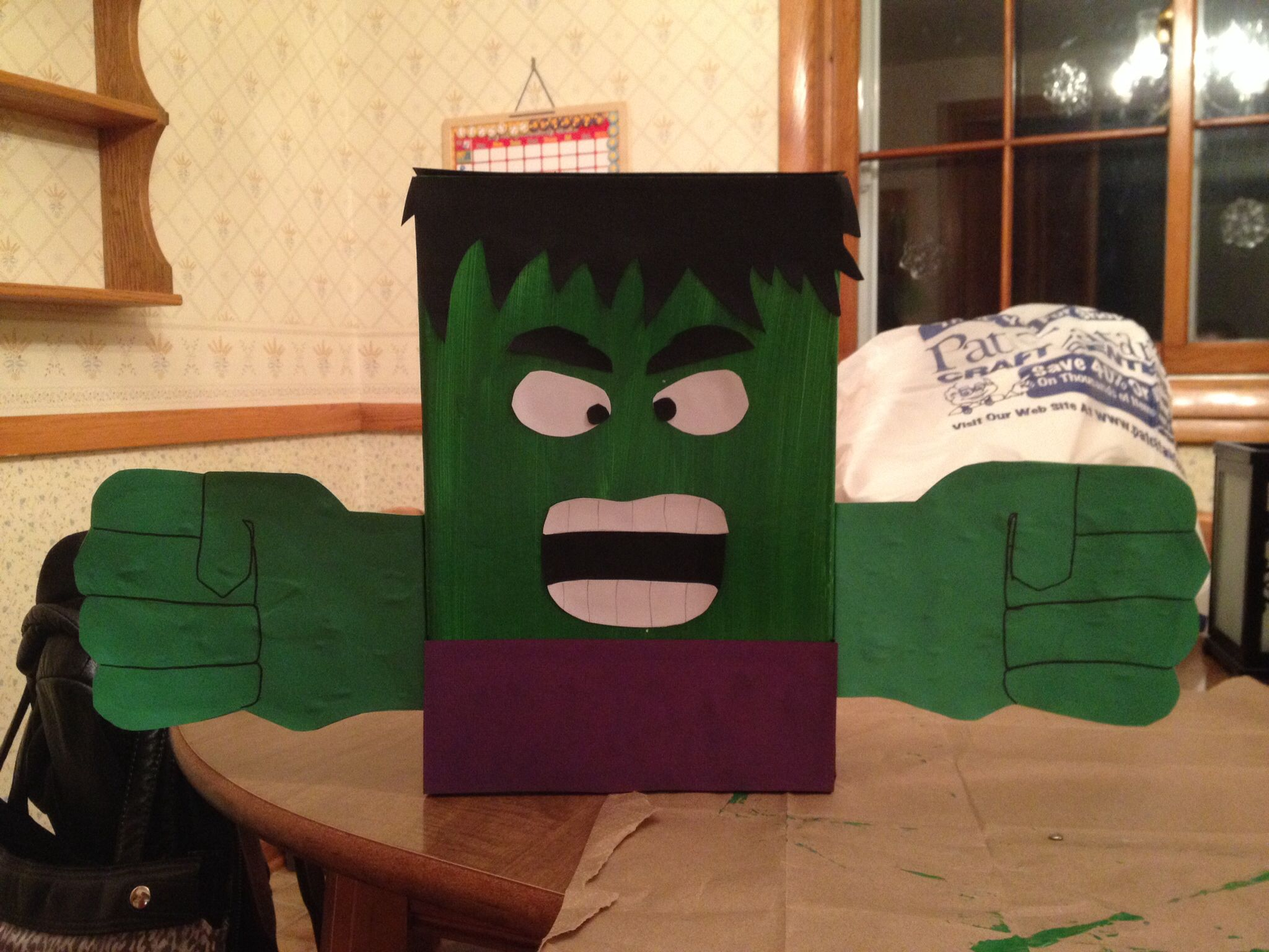 Incredible Hulk Valentines Day Box Valentine – Valentine Card Holders for Preschoolers