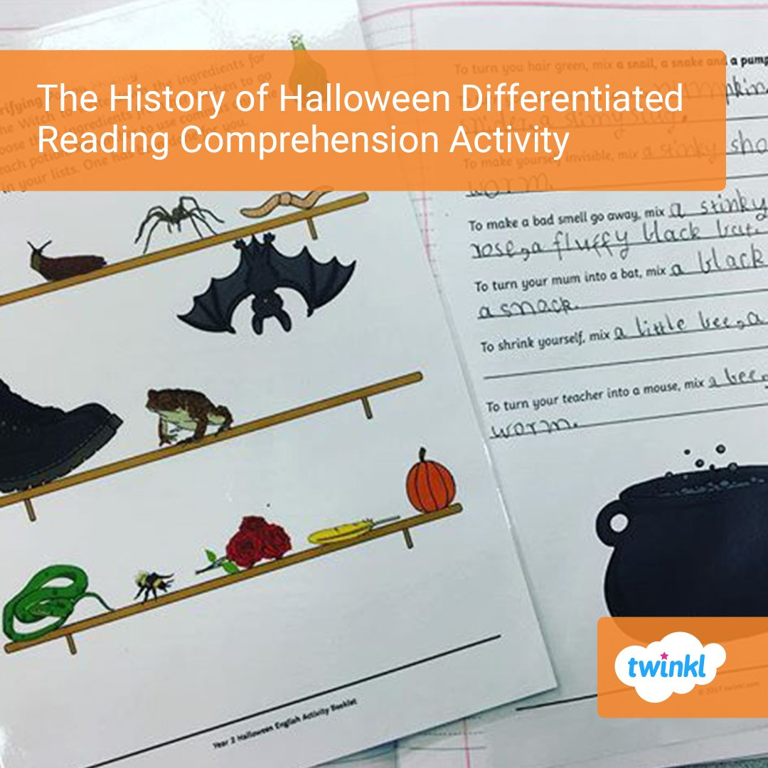 The History Of Halloween Differentiated Reading Comprehension Activity Reading Comprehension Comprehension Activities Reading Comprehension Activities [ 1080 x 1080 Pixel ]