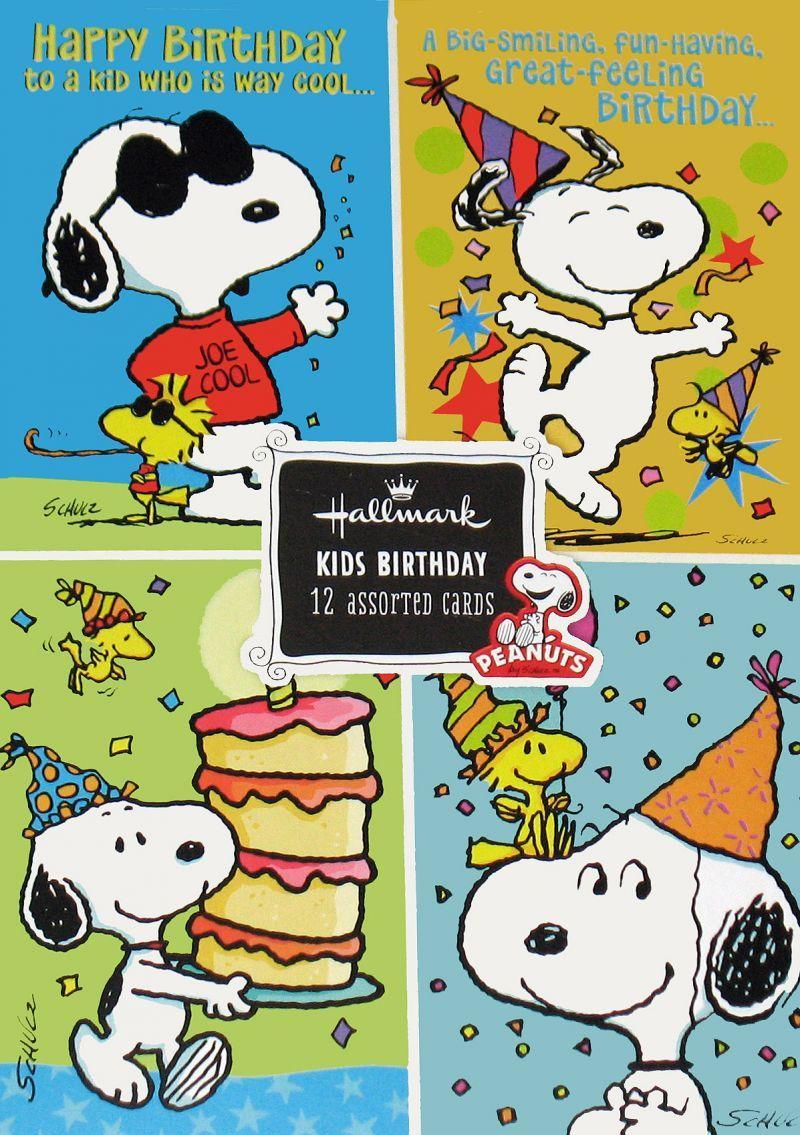 kidscards765.jpg (800×1135) Cumpleaños snoopy, Tarjetas