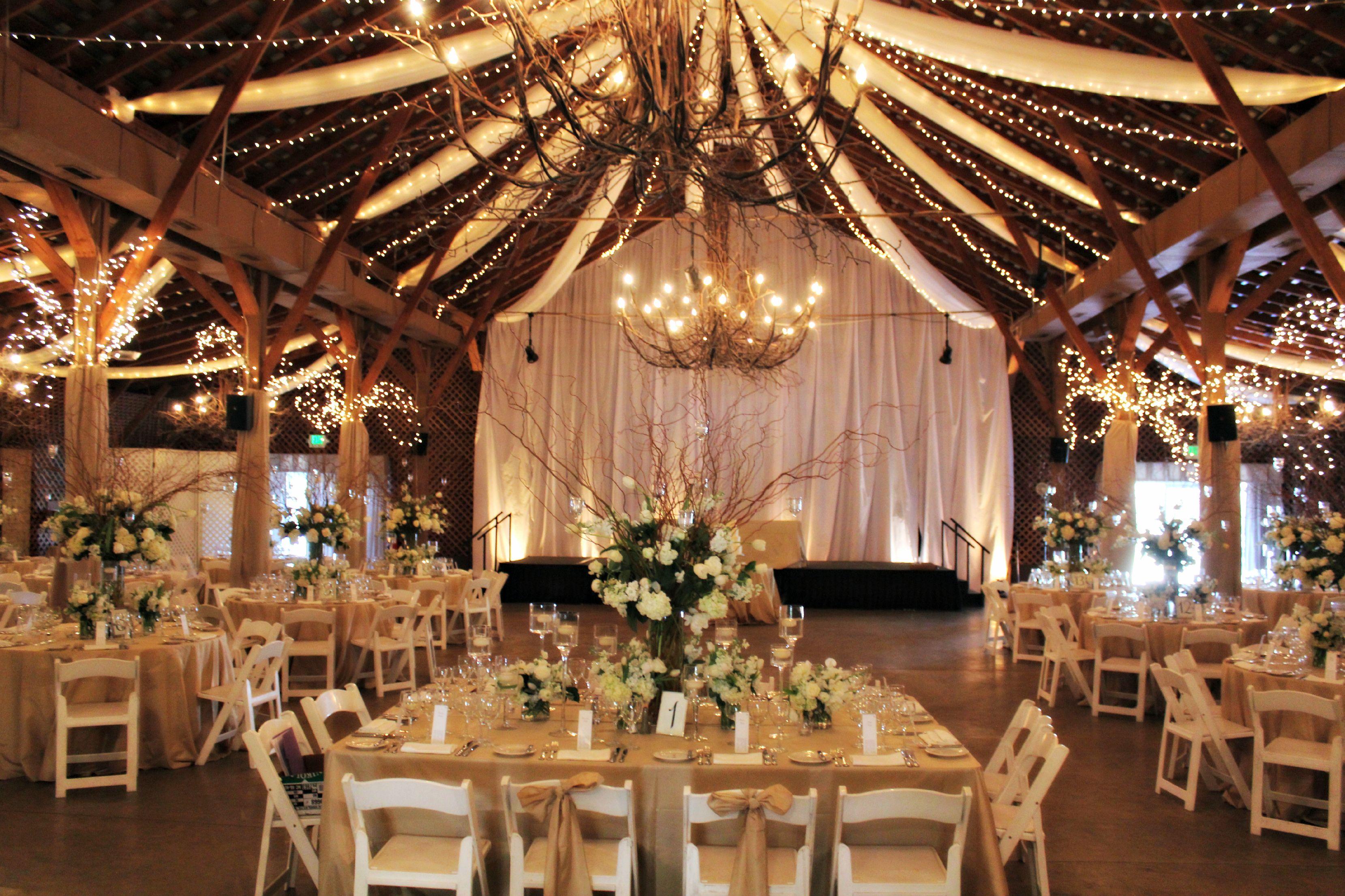Wedding Reception At The Barn Fearrington Village In Pittsboro Nc