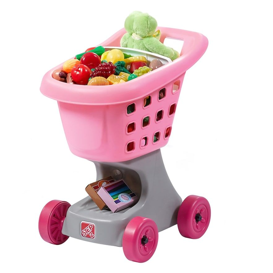 Step2 Shopping Cart With Bonus Food And Bag Toys For Girls Best