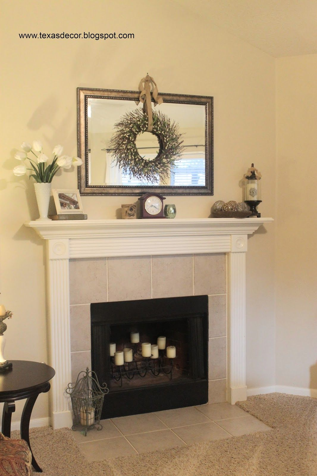 Living Room Inspiration Fireplace Mantle Decor Living Room