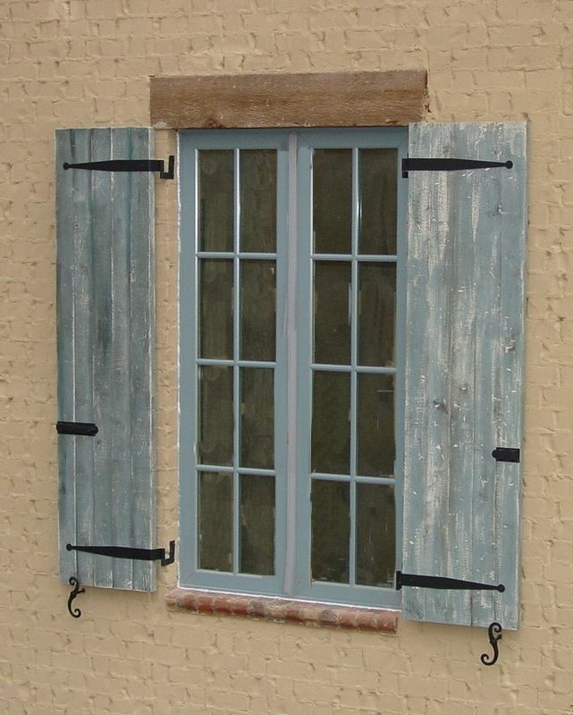 Board U0026 Batten Exterior Shutters Composite Wood Or Cedar/Cypress Wood.  Perfect For Craftsman Or Farmhouse Style Architecture.