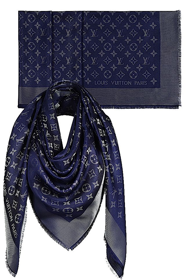 e533fa5290b05 Scarves from the collection of Louis vuitton  Vogue Fashion s night out in  the boutique Louis