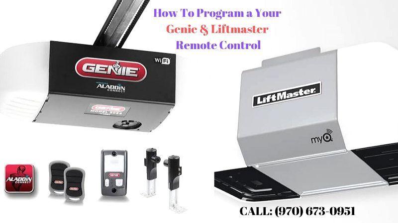 How To Program Liftmaster Genie Garage Door Opener Remote Control Garage Door Opener Remote Garage Door Opener Garage Doors
