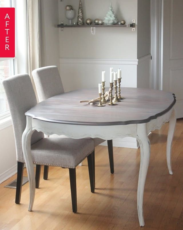 Before & After: A Dining Table That\'s Worth the Work | Dining room ...