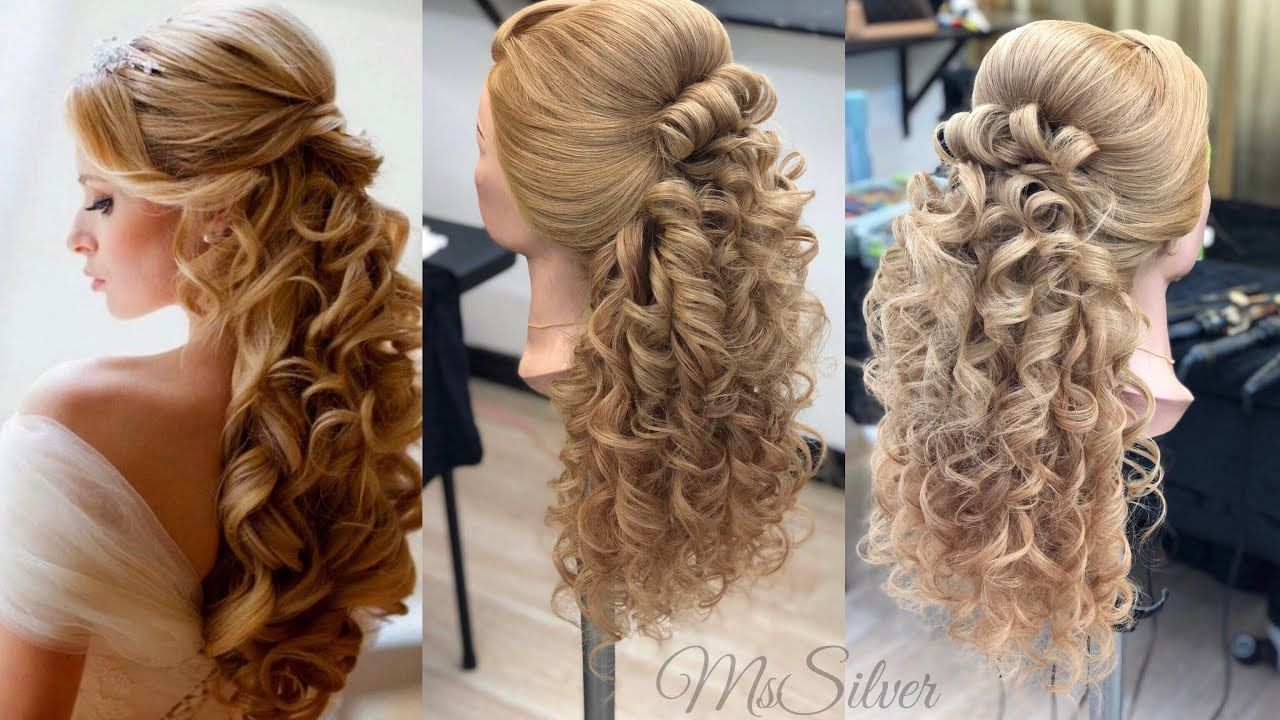 How To Do Bridal Hair Style Step By Step Beginners Comp Hacer Peinad Step By Step Hairstyles Wedding Hair Tips Hair Styles