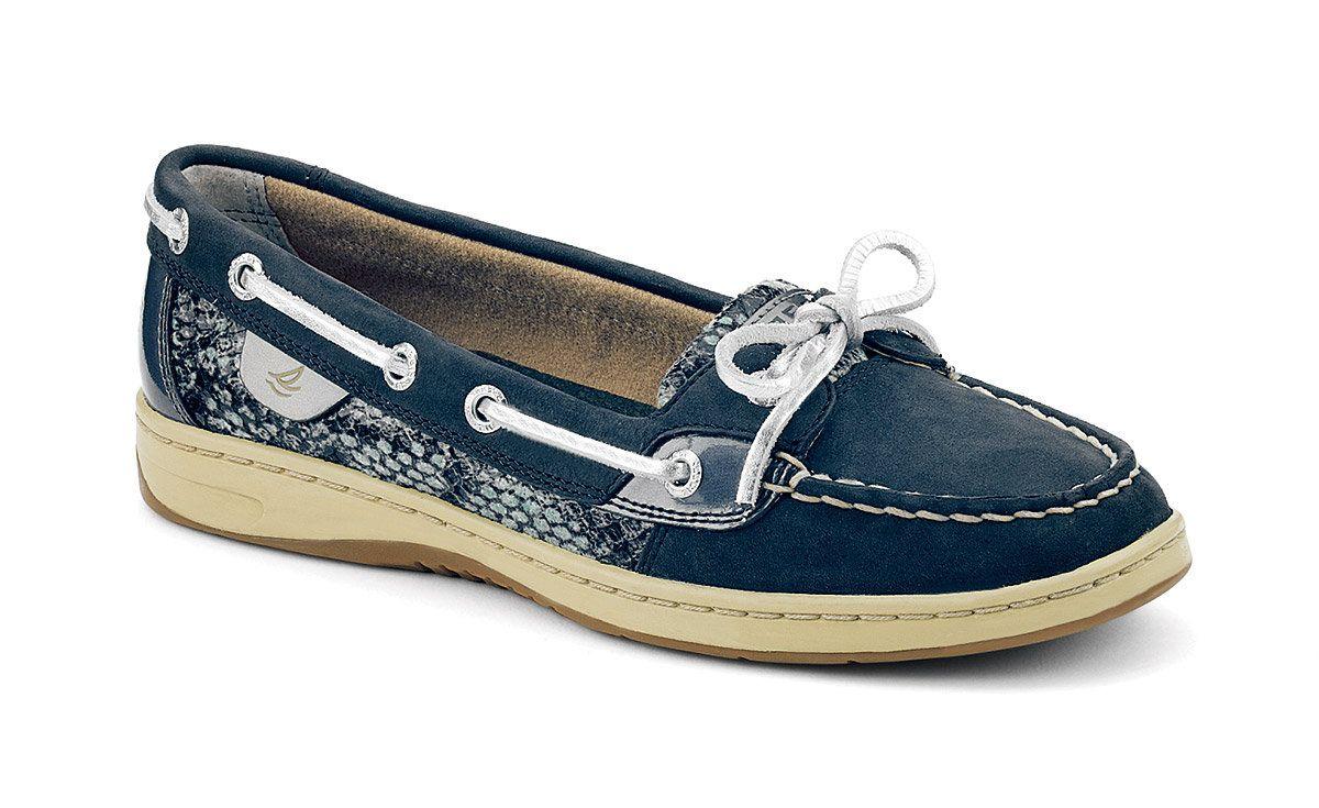 885032b1a mackayla paige s save of Women s Python Angelfish Boat Shoe on Wanelo