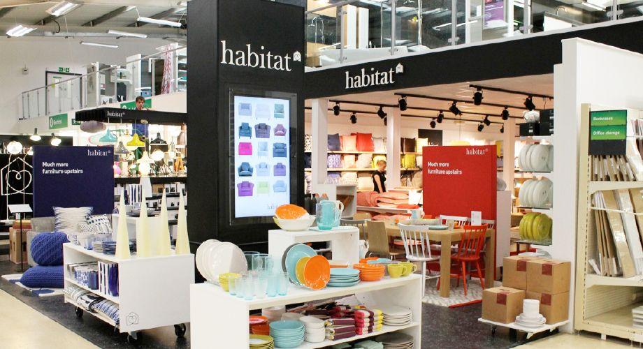 new mini habitat store in homebase horsham habitat. Black Bedroom Furniture Sets. Home Design Ideas