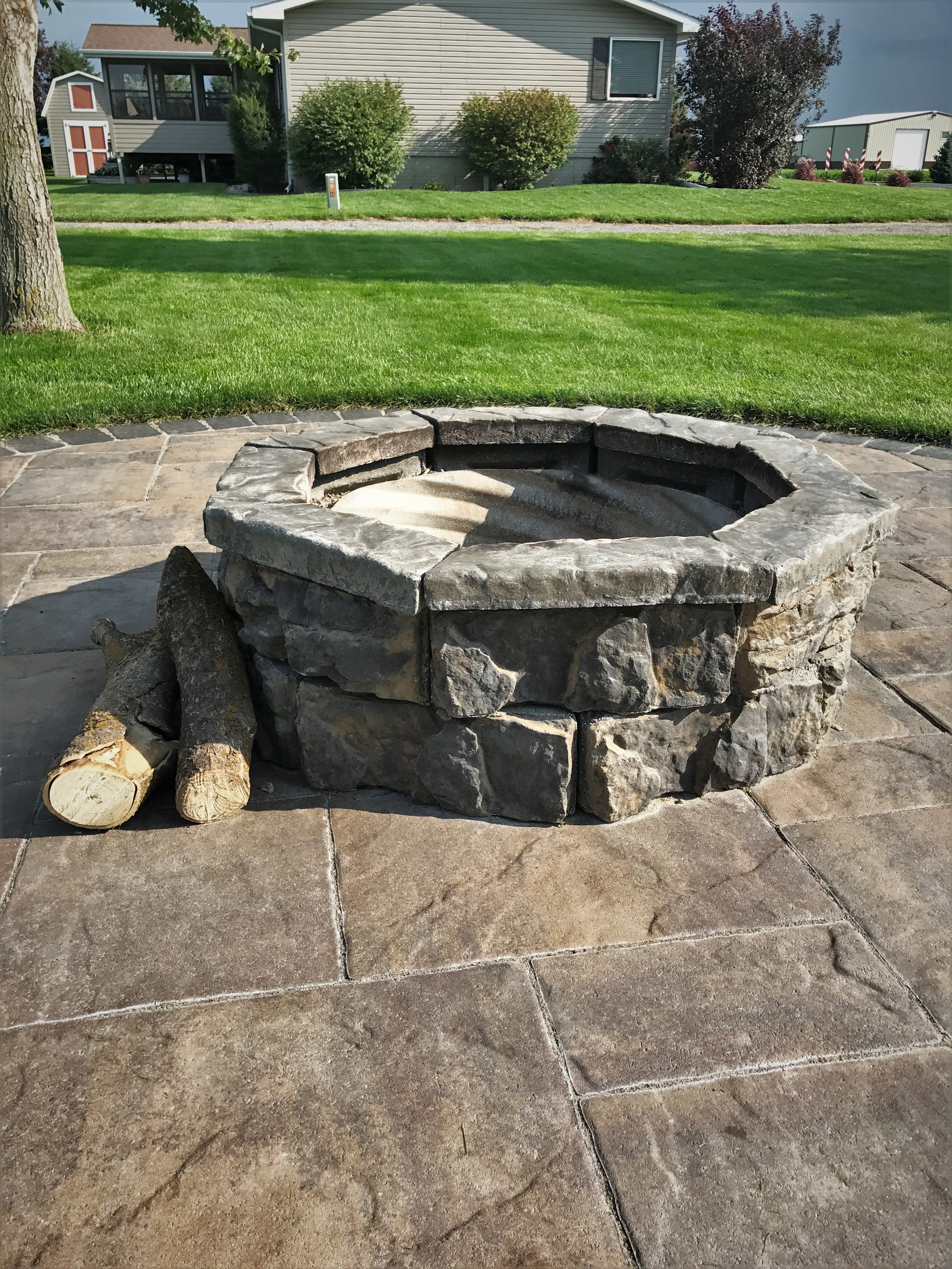 Pin On Ncp Fossill Stone Fire Pit Kits