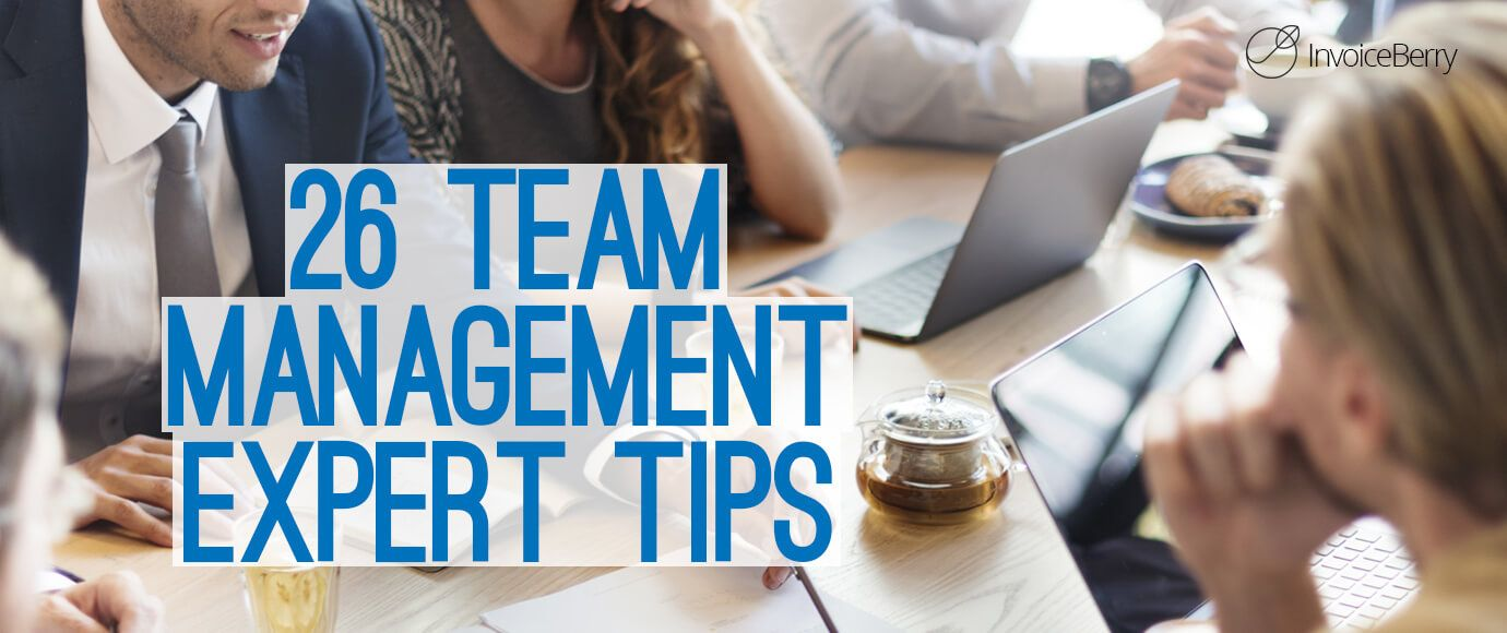 Need advice on team management? Click the pin below to check out these tips from our own Emily Sidley in this InvoiceBerry article! #ThreeGirlsTips #MarketingManagement