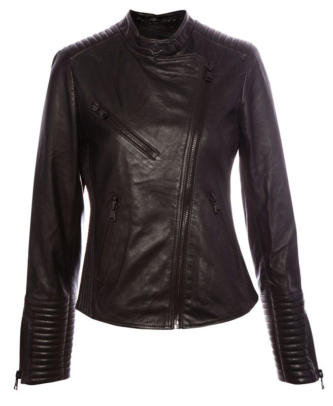 Cazadora Cruzada Piel Americanas Y Cazadoras Mujer Pull Bear España 89 Jackets Cool Outfits Leather Jacket