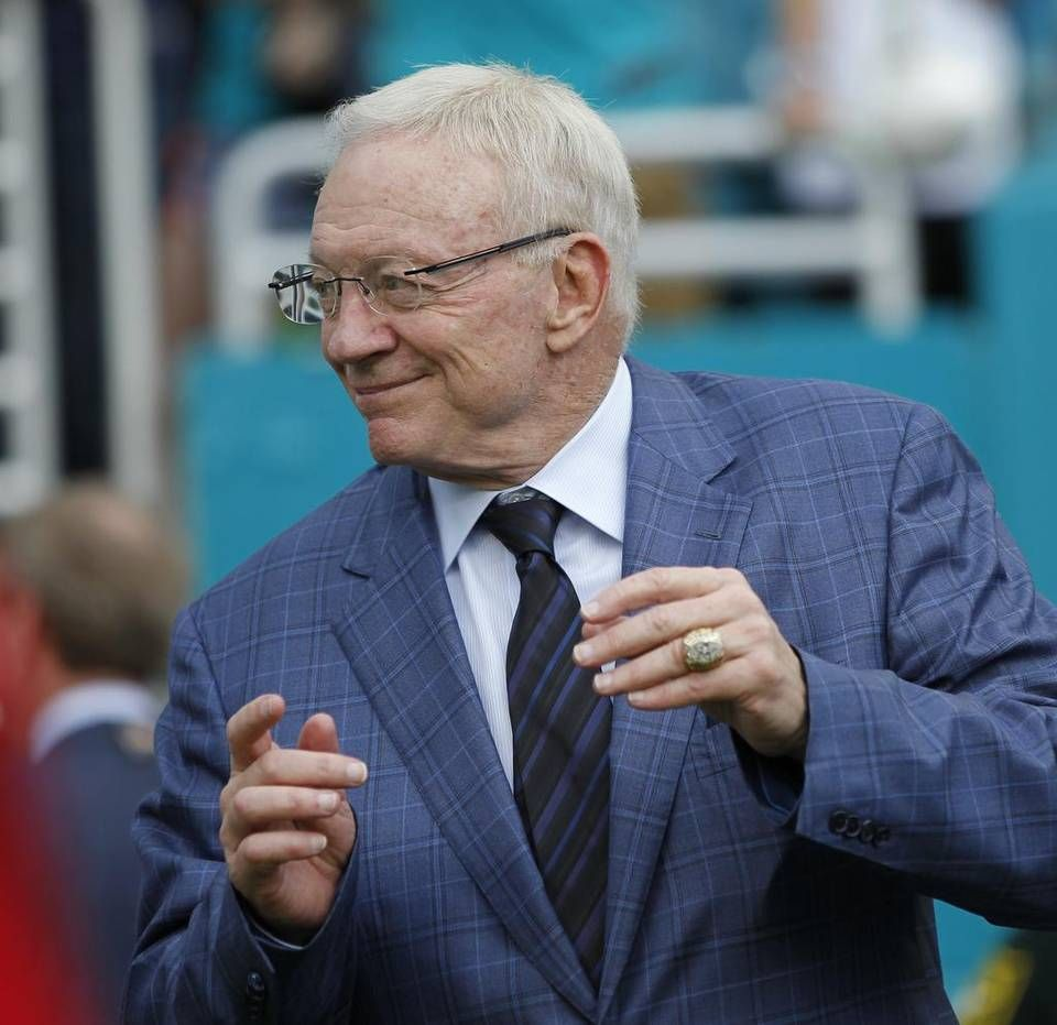 Dallas Cowboys owner Jerry Jones says he doesn't expect a