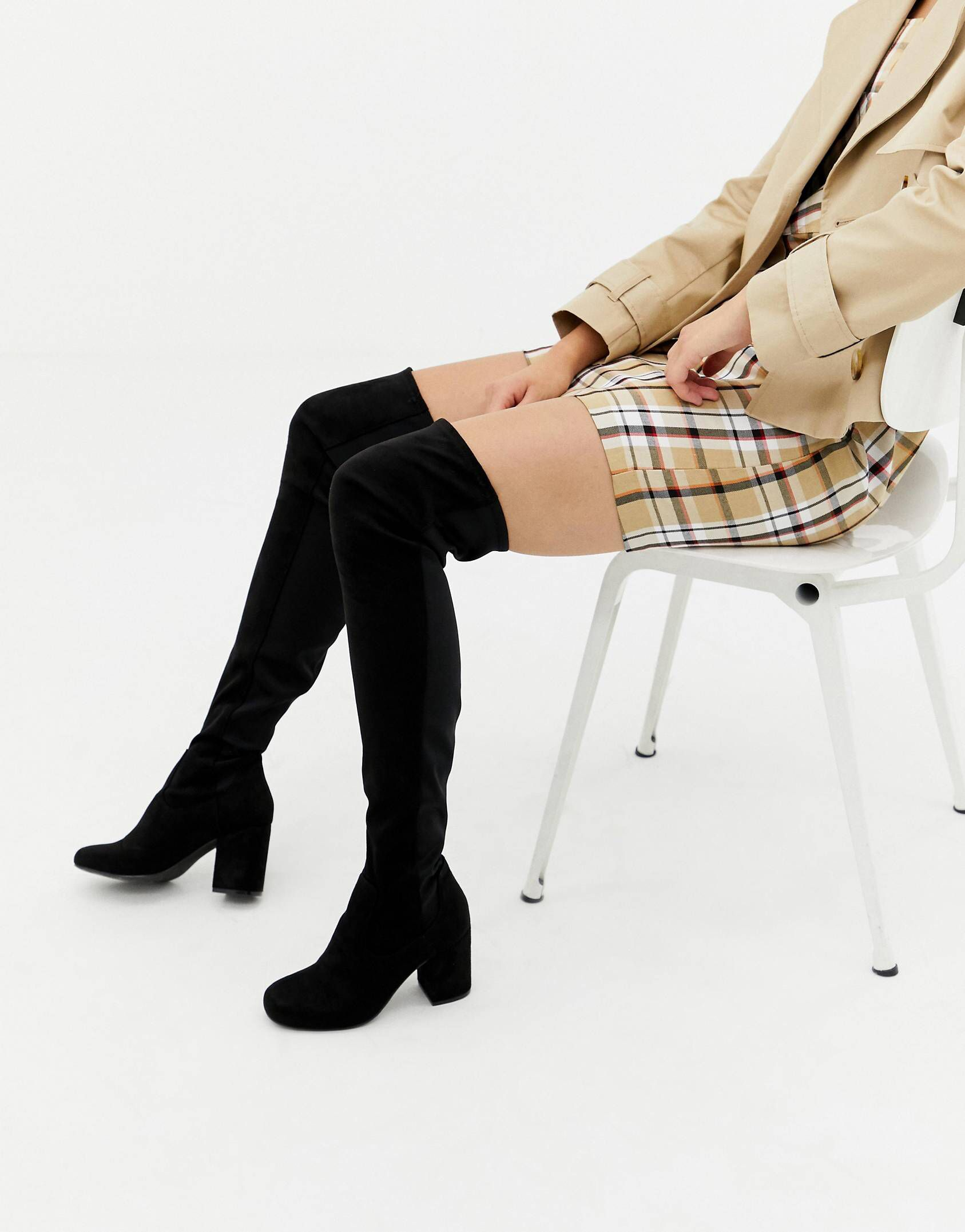 ab01b3cb30071 Shop the new range of women's boots at ASOS. Choose from ankle length, over  the knee and knee high boots for women in leather and suede styles today!