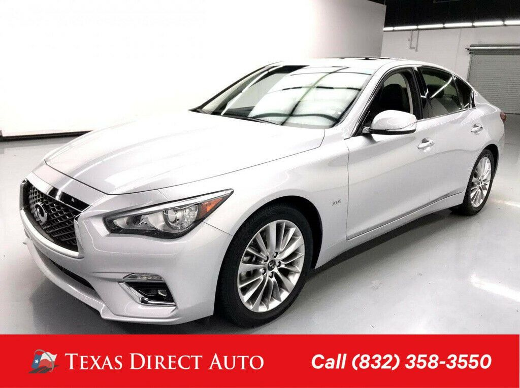 Used 2019 Infiniti Q50 3.0t LUXE Texas Direct Auto 2019 3