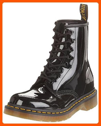 Dr Marten S Women S 1460 8 Eye Patent Leather Boots Black Patent Lamper 5 F M Uk 7 B M Us Women 6 D M Us Men Patent Leather Boots Boots Combat Boots