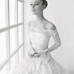 In love with Rosa Clara wedding dresses...