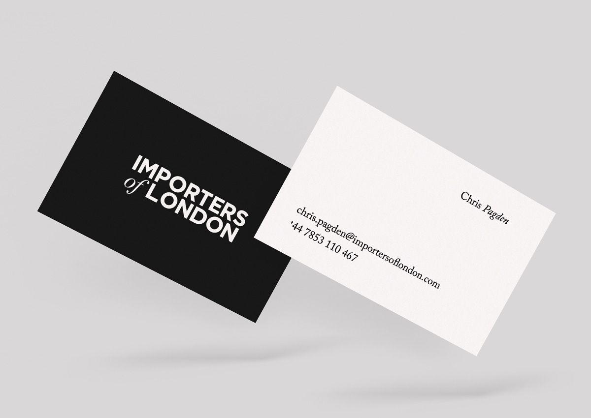 Importers of London Identity · Digital - Tom Peet Design + Digital ...