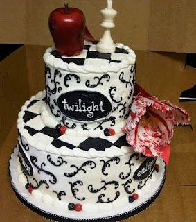 Super Twilight Birthday Cakes Twilight Birthday Cakes Pictures Funny Birthday Cards Online Overcheapnameinfo