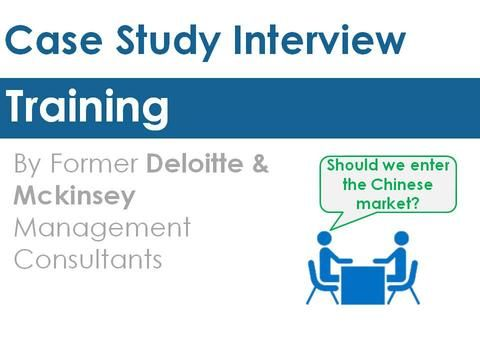 Consulting Case Interview Preparation Interview preparation