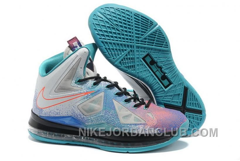 the best attitude c545f 50b02 ... best price buy nike lebron 10 2013 classic white blue pink running  shoes from reliable nike