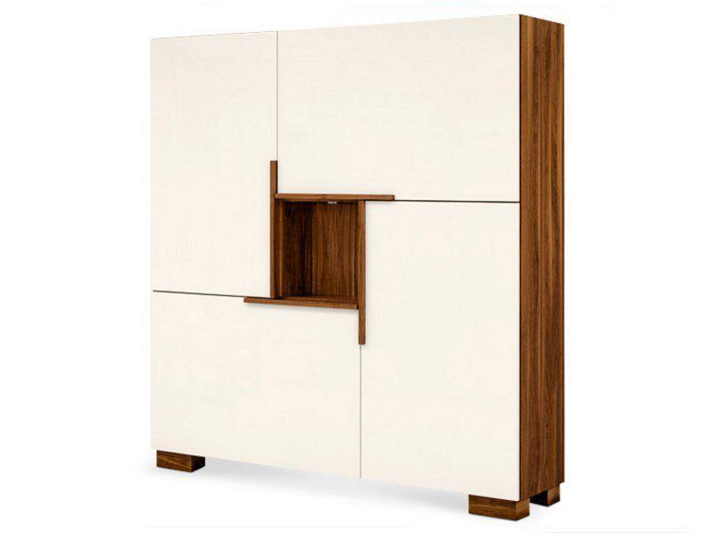 Wooden highboard ASTRUM - RODAM