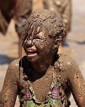 Mud day in Michigan, USA