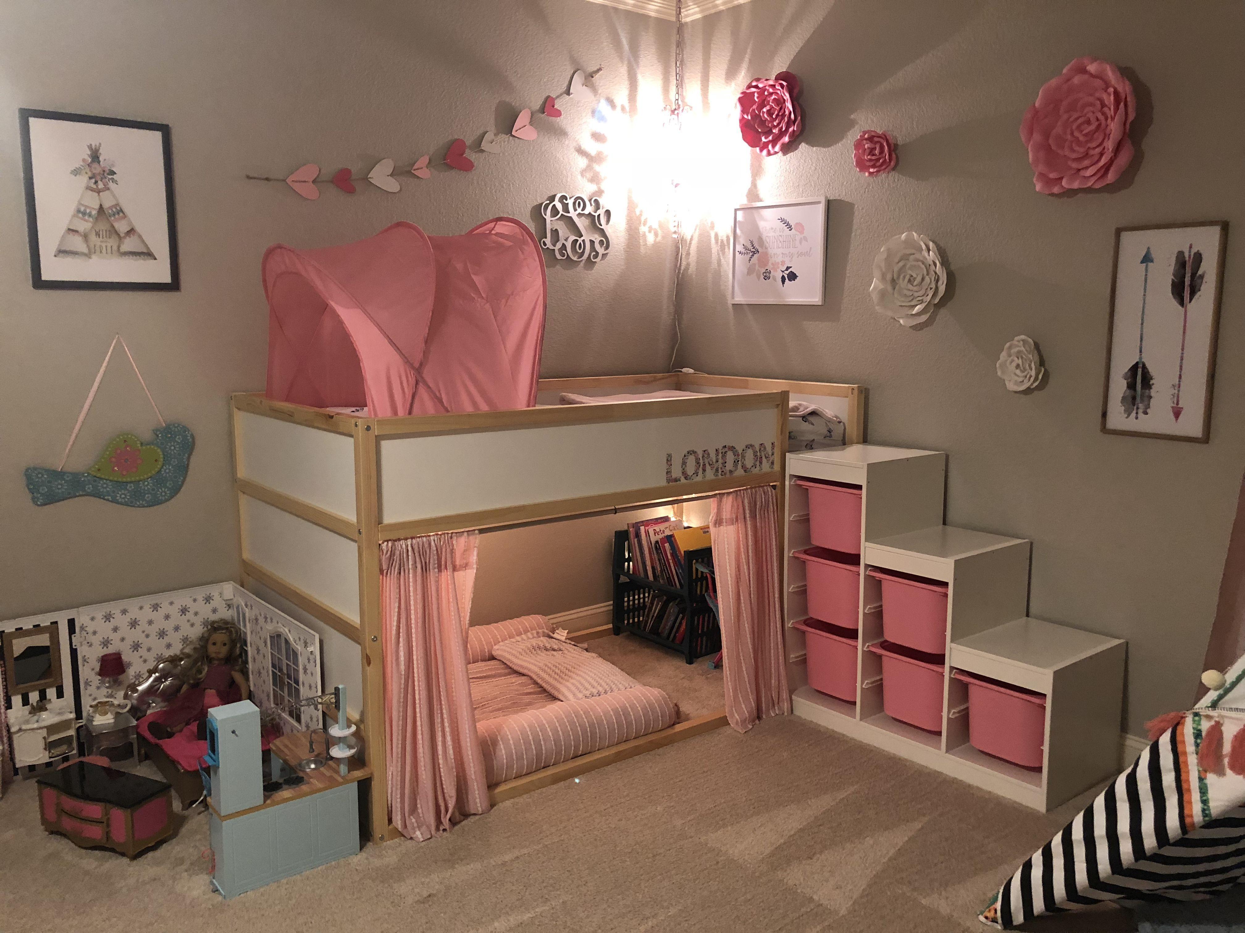 Pink Ikea Girls Bedroom Trendecors