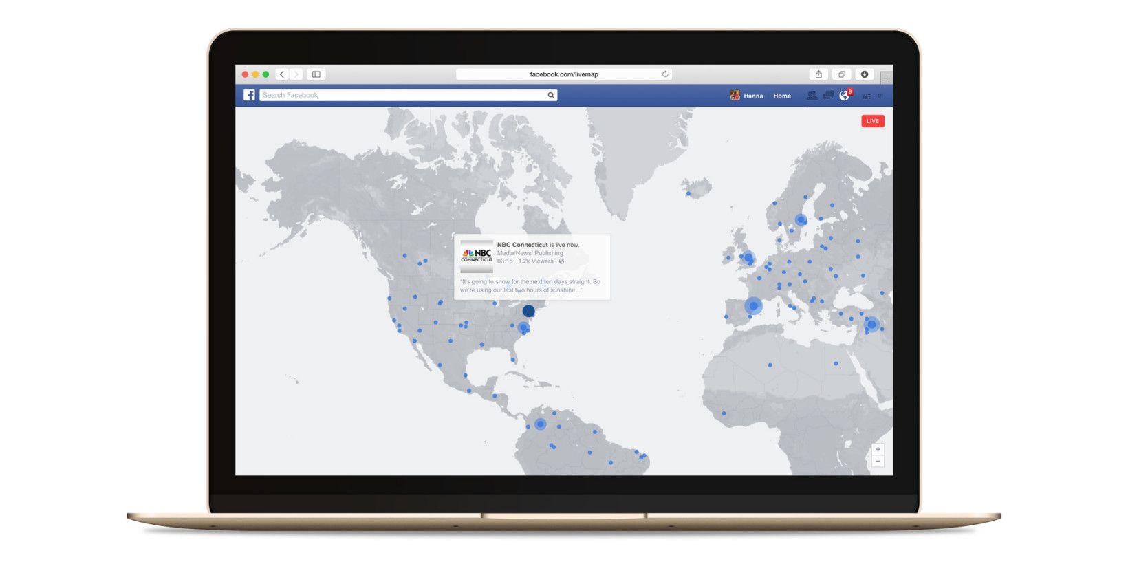 #Facebook interactive map is the best way for real-time videos streaming http://thenextweb.com/facebook/2016/05/19/facebooks-interactive-map-best-way-live-videos-streaming-real-time/ via The Next Web
