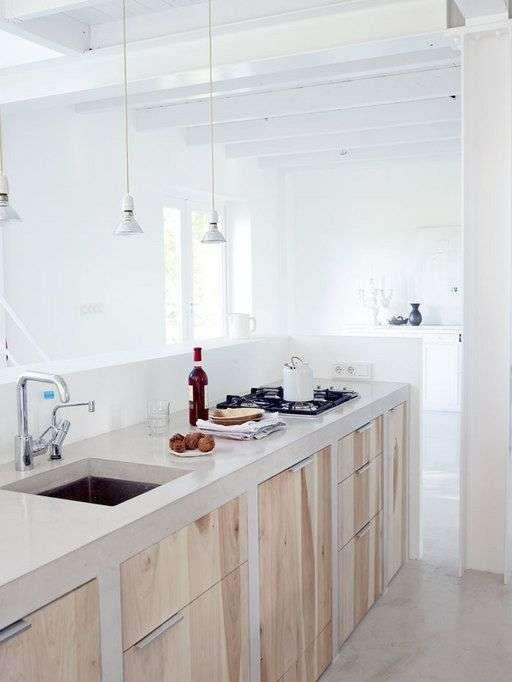 50 idees de cuisine bois beton