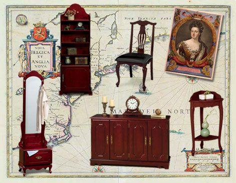 English Neo  Palladian And Georgian | S7hauhe. Queen Anne FurnitureUnique  ...