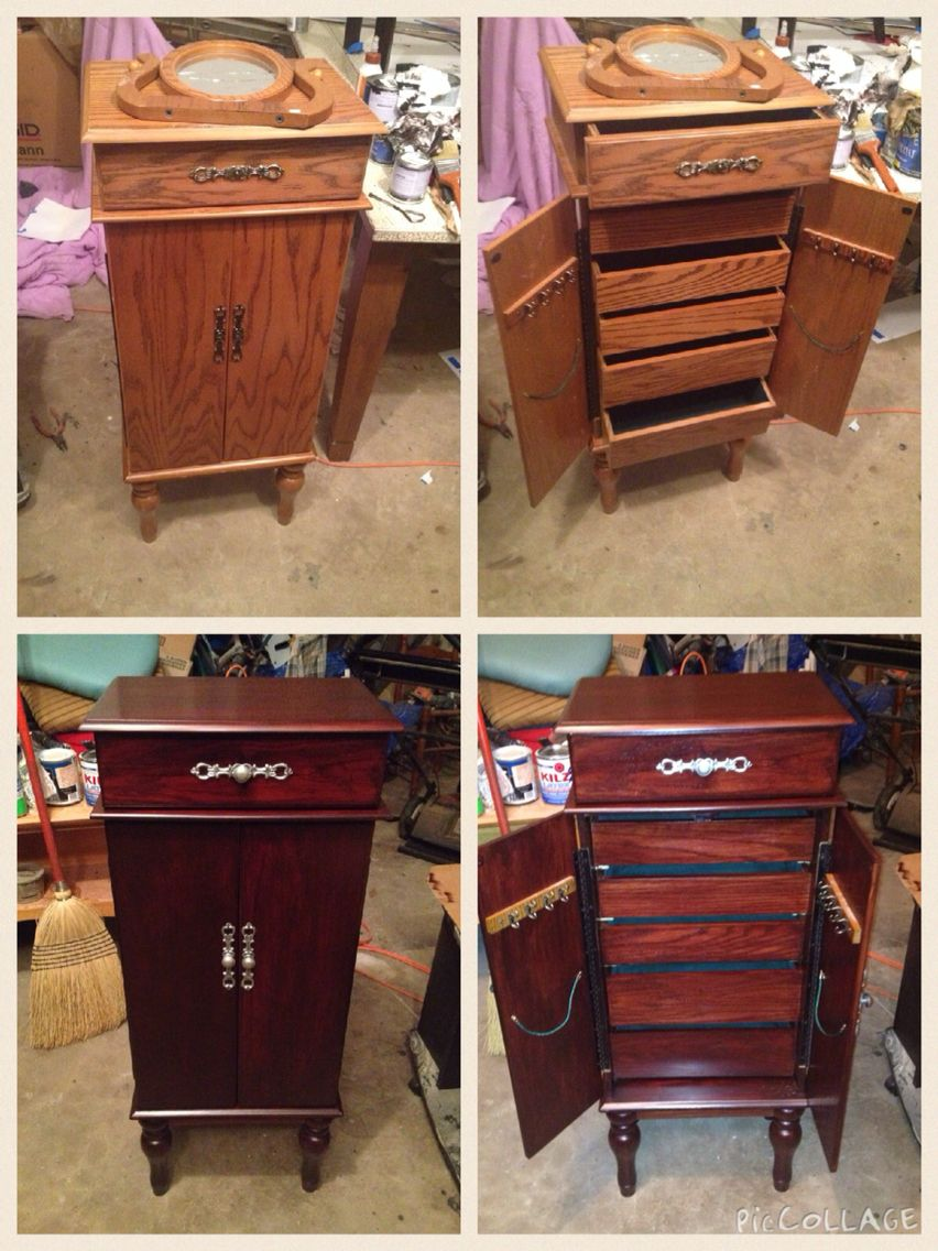 Craigslist find redone with General Finishes
