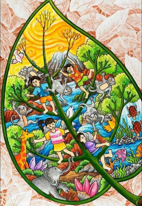 So meanfull   Environmental art, Poster drawing, Art ...