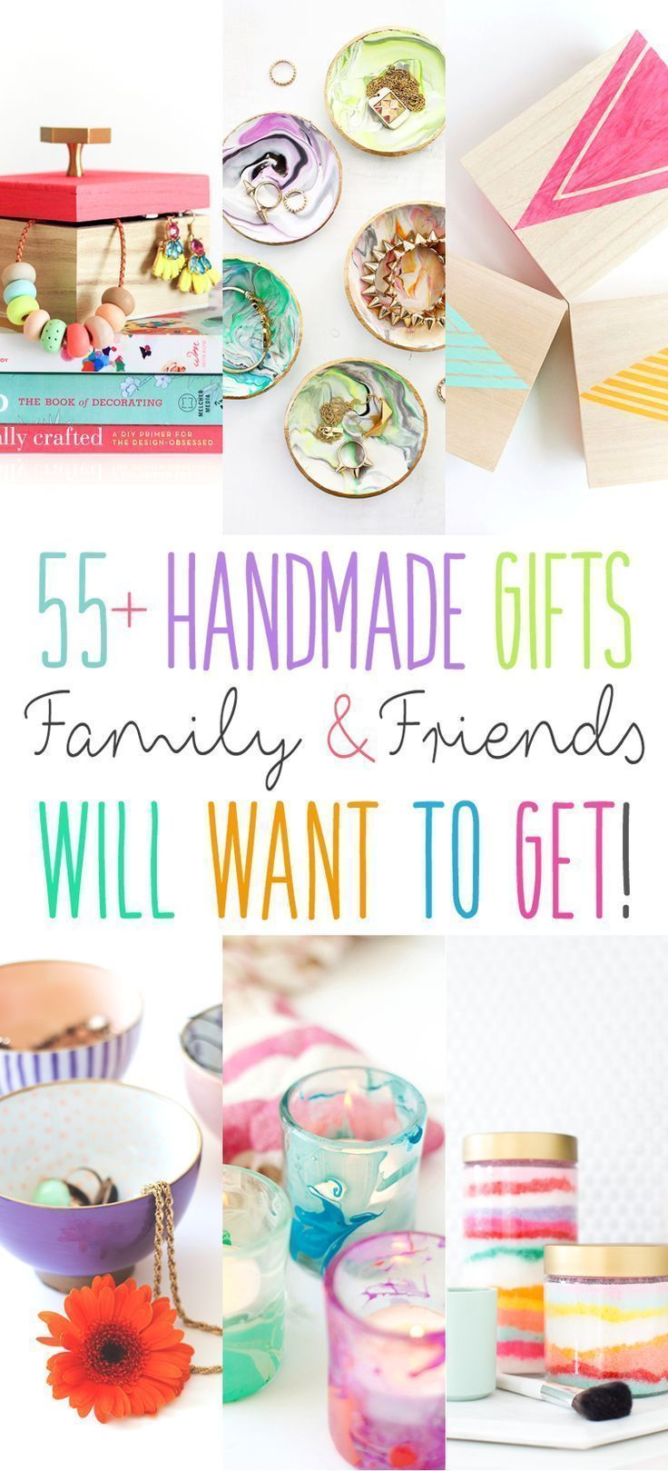 55+ Handmade Gifts Family and Friends will WANT to get