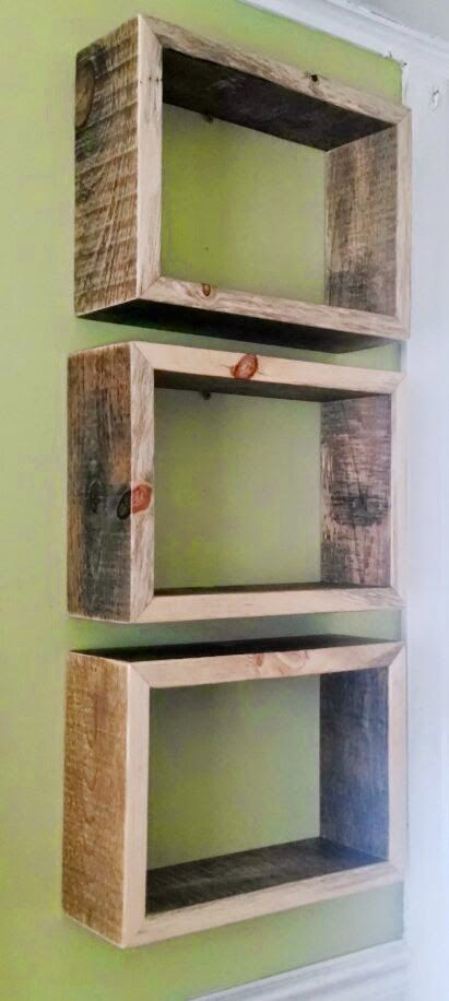 BUILD ME *A modern shelf trio made with naturally aged and - build me a resume