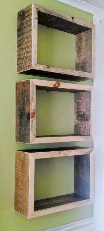 BUILD ME *A modern shelf trio made with naturally aged and - build me a resume