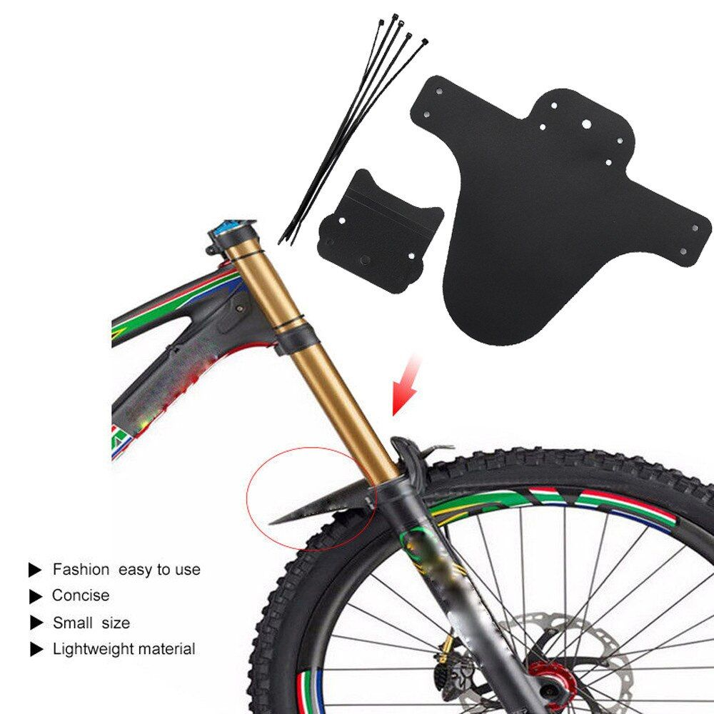 Mountain Bicycle Cycling Front Rear Mud Guards Mud Set MTB Bike Tire Fenders FA
