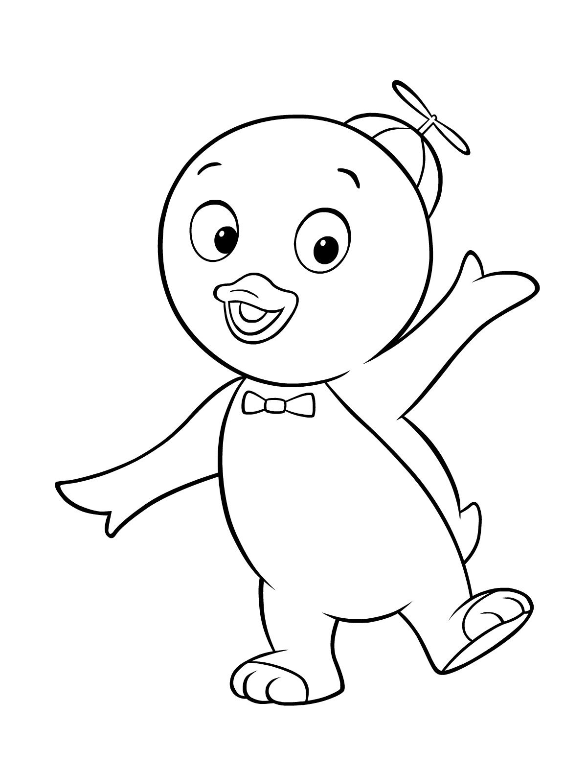 Backyardigans Coloring Pages Coloring Kids Coloring Pages