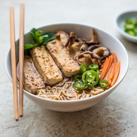 Warming vegan ramen with fried tofu and shiitake mushroom find warming vegan ramen with fried tofu and shiitake mushroom find the recipe at foodgawker forumfinder
